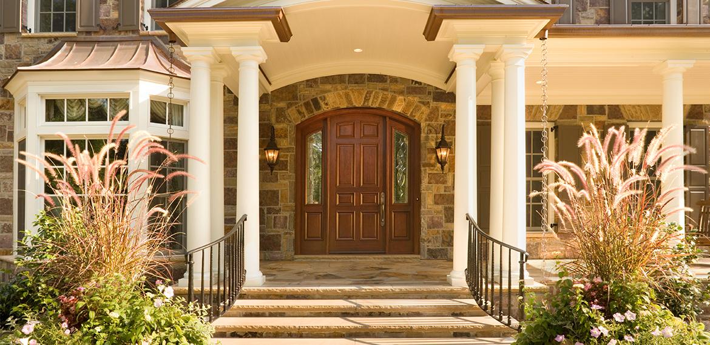 дверь особняка